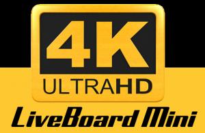 LiveBoard Mini 4K logo